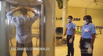 El Aeropuerto Internacional de Punta Cana aplica medidas adicionales para la detección de COVID-19