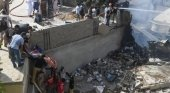 Se estrella un avión en Pakistán con 107 personas a bordo | Foto: EV Tv