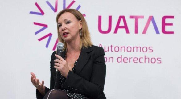 María José Landáburu,  secretaria general de la Unión de Asociaciones de Trabajadores Autónomos y Emprendedores (UATAE)