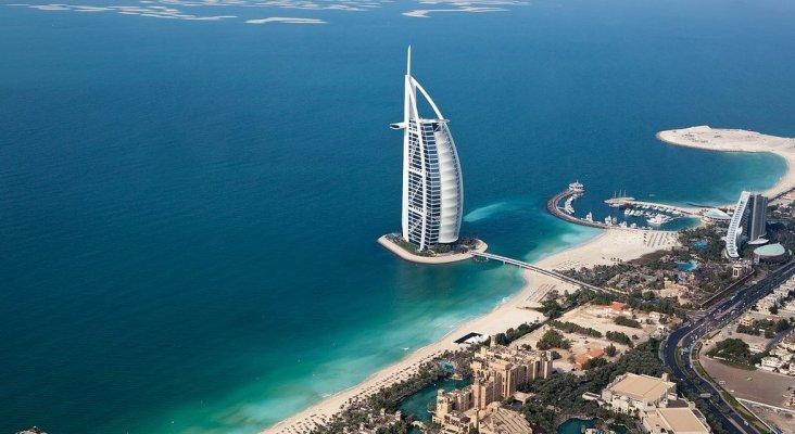 Vista aérea de Dubái