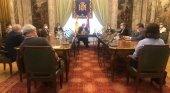 Los hosteleros piden un rescate estatal similar al de Francia, de 18.000 mill. | Foto: Recepción del Delegado de Gobierno en Madrid, José Manuel Franco, a los representantes de HOSTELERÍA MADRID y HOSTELERÍA DE ESPAÑA