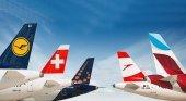Lufthansa Group perdió 2.100 millones en el primer trimestre