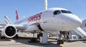 Bombardier serie C de la aerolínea Swiss
