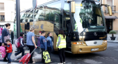 El parón turístico pone contra las cuerdas todos los negocios del sector del autobús (EFE)