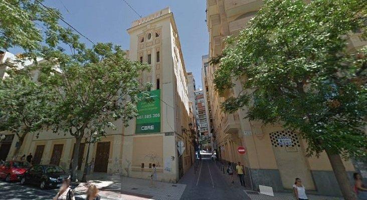 """Un proyecto hotelero, declarado como """"prioritario"""" por Alicante   Foto: Antiguo cine Ideal- Google Maps"""
