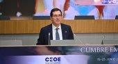 El presidente de CEOE, Antonio Garamendi