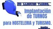 Implantación de turnos para hostelería y turismo