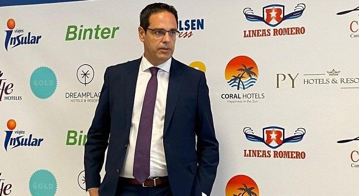 Francisco Hernández, jefe de canales de distribución de Binter