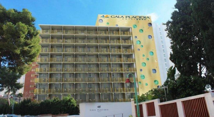 Fachada del Hotel Gala Placidia (Benidorm) | Foto: hotelgalaplacidia.com