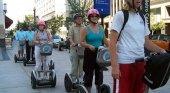 Los Segways, un medio de transporte popular entre los turistas