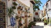 Barrio de Santa Cruz en Alicante