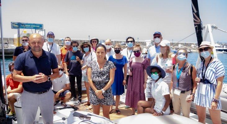 La expedición 'Covid-Free' de la OMT testea el sur de Gran Canaria