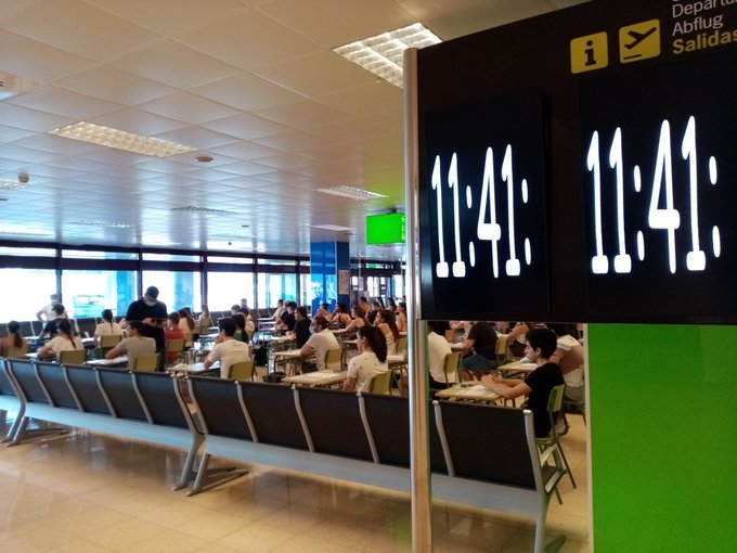 Pruebas EBAU en Aeropuerto de Palma|Foto: Aena (Twitter)