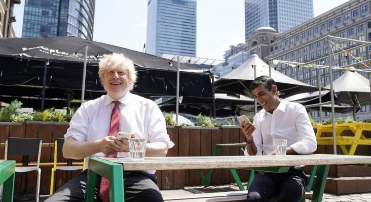 Boris Johnson and Rishi Sunak visit Pizza Pilgrims 1 foto:  Number 10 (CC BY-NC-ND 2.0)