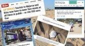 La mascarilla obligatoria de Baleares copa la prensa internacional
