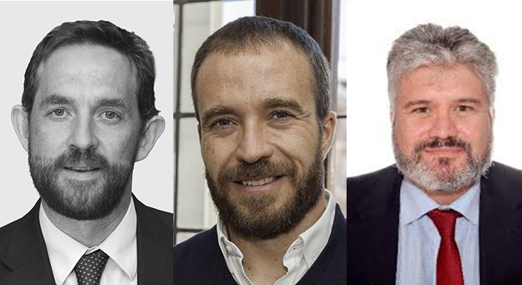 Fernando Valdés Verelst, Miguel Sanz Castedo y Pablo Garde Lobo