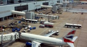 Terminal Norte del aeropuerto de Gatwick