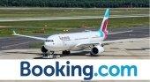 Eurowings ofrecerá alojamiento, tras aliarse con Booking.com