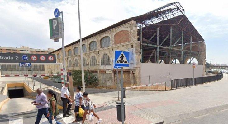 Una antigua nave de locomotoras se Málaga de convertirá en hotel | Foto: Google Maps