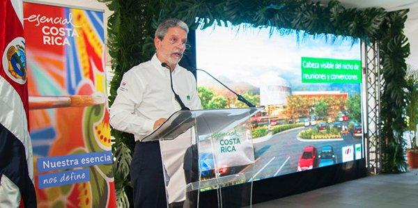 Mauricio Ventura, ministro de Turismo de Costa Rica