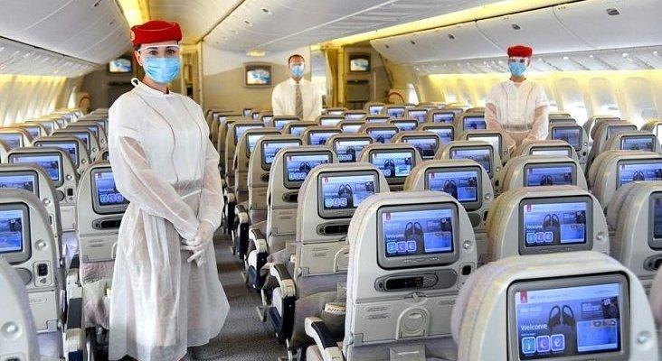Emirates da un paso más, cubrirá los funerales de fallecidos por covid   Foto: Emirates vía Business Insider