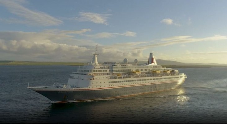 Próxima parada, el desguace   Foto: Crucero Black Watch- fredolsencruises.com