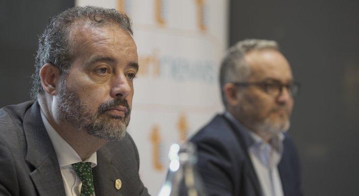Rafael Robaina, rector de la ULPGC - Ignacio Moll, CEO de Tourinews