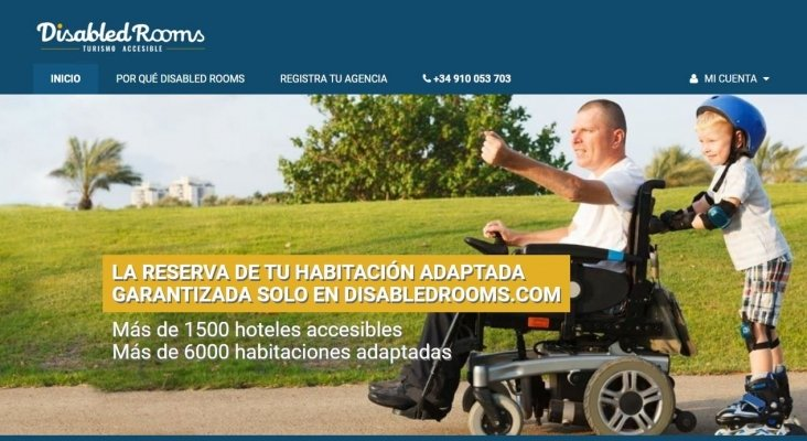 Disabled Rooms, nuevo portal especializado en turismo accesible para agencias de viaje