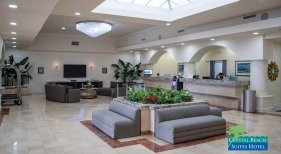 Lobby del Crystal Beach Suites Hotel|Foto: Crystal Beach Suites Hotel