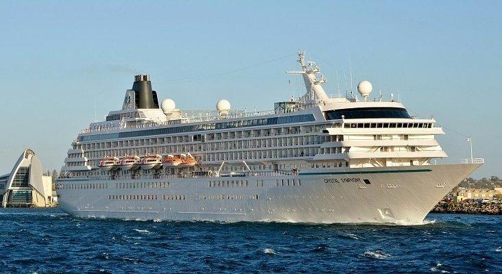 Crystal Cruises cancela todos sus viajes de 2020 | Foto: Crystal Symphony- Bahnfrend (CC BY-SA 4.0)