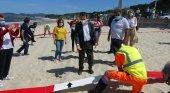 """Las playas de Galicia """"presumen"""" de distanciamiento social"""