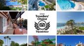 Siete establecimientos, de beCordial Hotels & Resorts, premiados por Tripadvisor