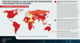 Austria y Dinamarca también recomiendan a sus ciudadanos no viajar a España