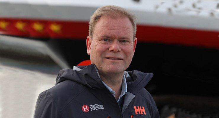 Bent Martini, director de operaciones de Hurtigruten