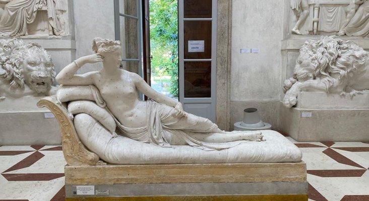 Turista rompe estatua bicentenaria por hacerse un selfie|Foto: Venus Victoriosa del Museo Antonio Canova