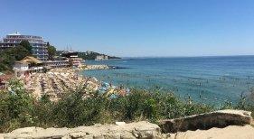 Playa en Varna, en Bulgaria