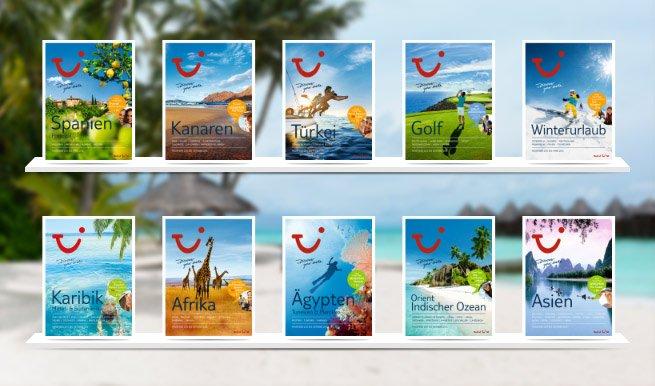 TUI Deutschland apuesta por catálogos impresos Foto: dovolenka.at