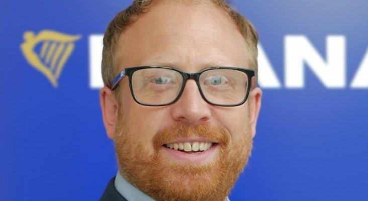 Darrel Hughes, director de recursos humanos de Ryanair