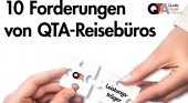 QTA desvela las 10 principales exigencias de las agencias de viajes a los TT.OO.