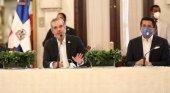 R. Dominicana ofrecerá un plan de asistencia al viajero con cobertura Covid | Foto: Luis Abinader (izq) y Davido Collado, presidente y ministro de Turismo de República Dominicana