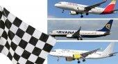 Iberia, Ryanair y Vueling emprenden una batalla de precios