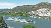Huelva, escenario de la reactivación de los cruceros en España | Foto: Embarcación La Belle de Cadix, que ha realizado su primera escala en Huelva- croisieurope.es