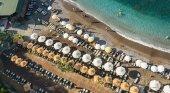 Playa en Alania, en Turquía