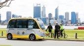 Autobús Autónomo en Perth, Australia