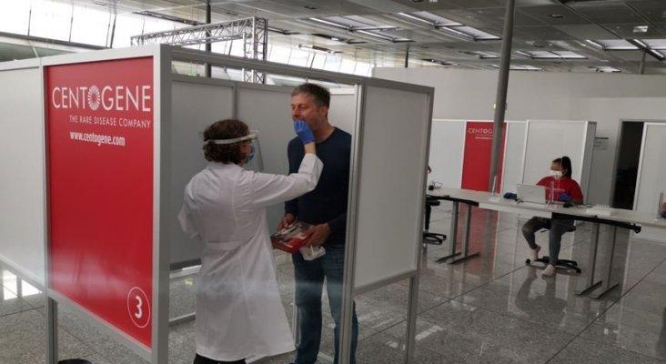 """""""La capacidad para realizar PCR en el aeropuerto de Frankfurt debería ampliarse"""""""