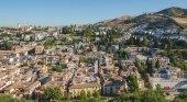 Vista panorámica de Granada