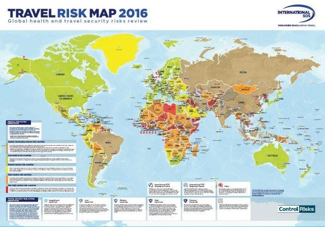 Mapa Mundial De Riesgos 2016