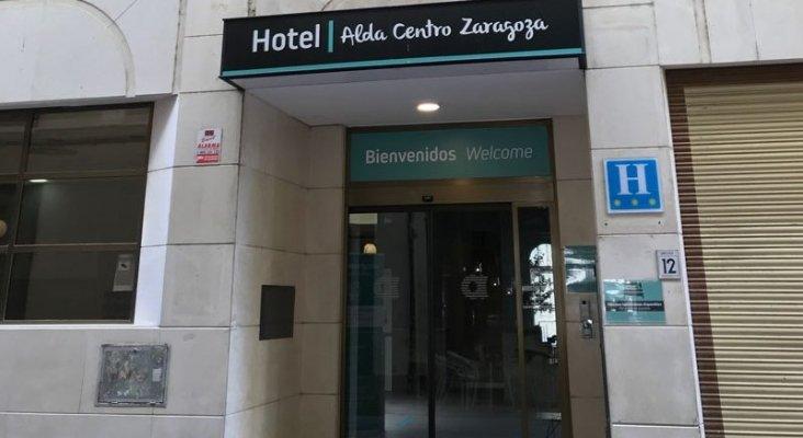 Fachada del Hotel Alda Centro Zaragoza | Foto: Alda Hotels