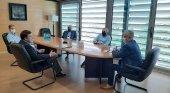 Encuentro entre la patronal hotelera de Salou y representantes locales. | Foto: Ayuntamiento de Salou