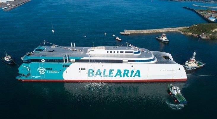 El Eleanor Roosevelt, primer fast ferry a gas natural del mundo | Foto: Baleària